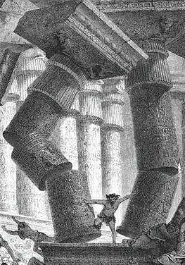 Samson Removing Columns