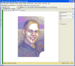 SQL Self Portrait (Click to embiggen)