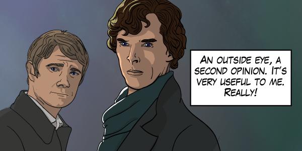 BBC's Sherlock and John Watson