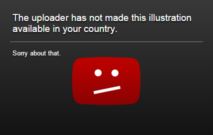 Regional filtering is a bizarre youtube feature. It's even more bizarre that people use it.