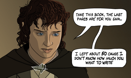 Frodo Baggins Quote