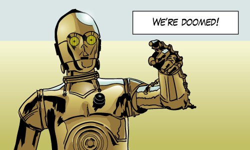 Second most pessimistic robot in the universe